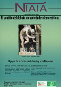 El papel de la razón en el debate