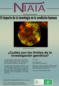 Cuáles son los límites de la investigación genética