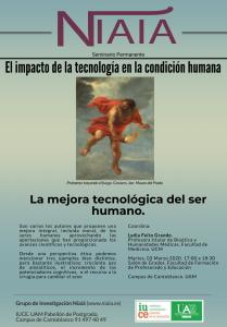 La mejora tecnológica del ser humano